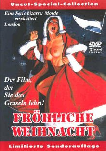 Don't Open Till Christmas German DVD Cover