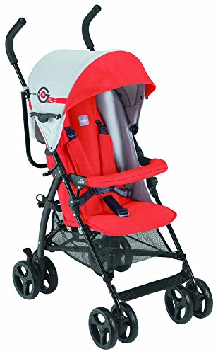 Lightweight And Compact Baby Stroller Agile C83 ROSSO Cam
