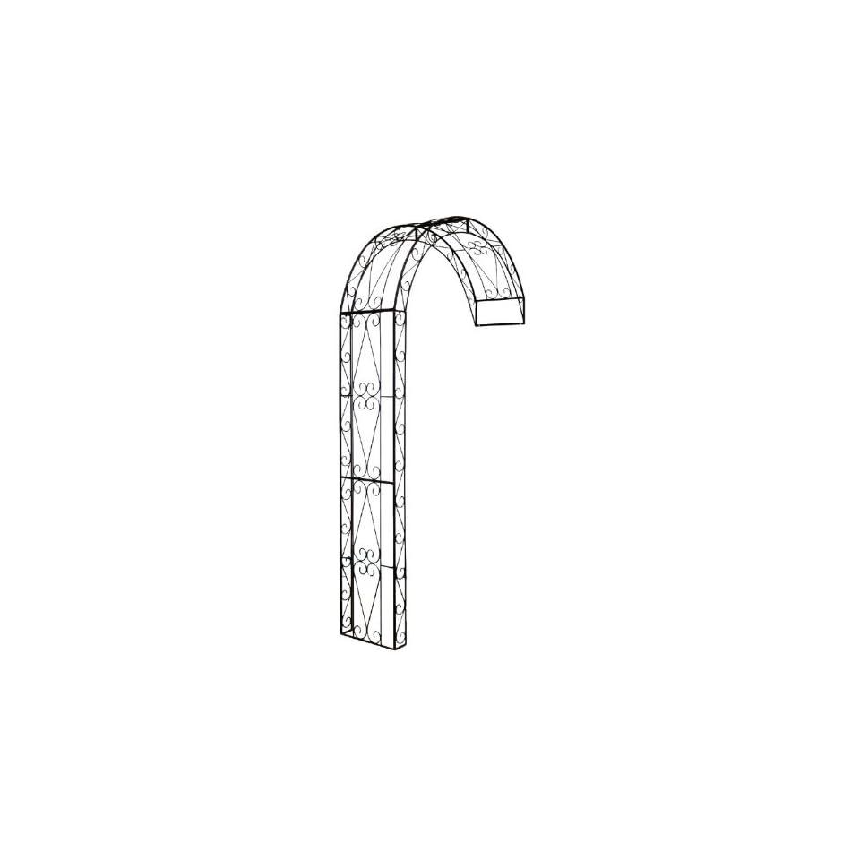 rosenbogen halbbogen aus metall rankhilfe pergola 12160 on popscreen. Black Bedroom Furniture Sets. Home Design Ideas