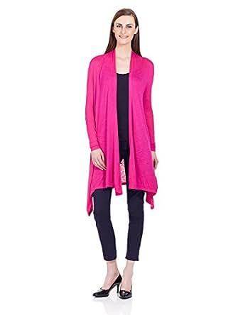 Elle Women S Shrug Eeto0042 Pink X Small Amazon In