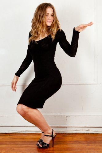 Buy KD dance Sexy Knee High Sweater Dress, Elegant & Healthy, Modest & Sophisticated, Fashion Versatile, Made in New York City USA, Stretch Knit, Great with Thigh High Boots, Heels or Leggings From Amazon