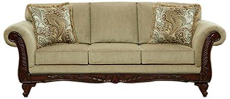 Chelsea Home Furniture Shayla Sofa, Ashanti Platinum