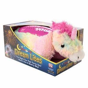 Pillow Pets Dream Lites - Rainbow Unicorn 11 from CJ Company