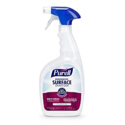 PURELL Foodservice Surface Sanitizer Spray 32 oz, Fragrance Free, RTU (Pack of 3)