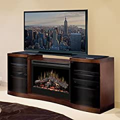 Best Price Acton 73 TV Stand With Electric Fireplace Best