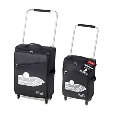 "18""& 22"" Black Zframe Deluxe Set Of Suitcases from ZFrame"