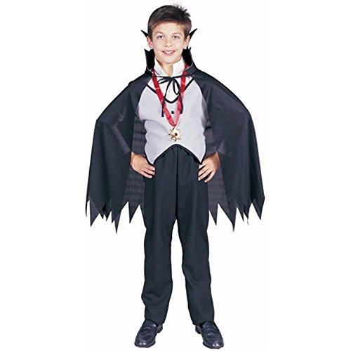 [Child's Classic Vampire Halloween Costume (Size: Small 4-6)] (Classic Vampire Child Costumes)