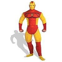 アイアンマン Deluxe 衣装、コスチューム コミック版 (男性用)