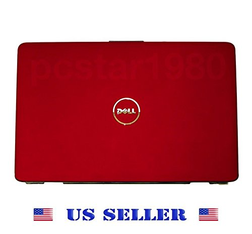 """Dell Inspiron 1545 Genuine 15.6"""" Laptop Red Lcd Cover J454M Cn-0J454M Usa Dell"""