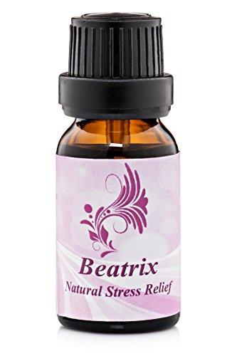 Stress Relief Essential Oil - Therapeutic Pure Organic FDA Certified - 60 Day Guarantee - .5oz