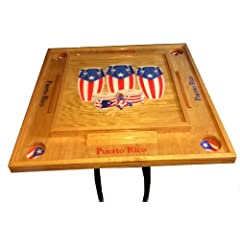 Buy Puerto Rico Congas Domino table by Latinos R US