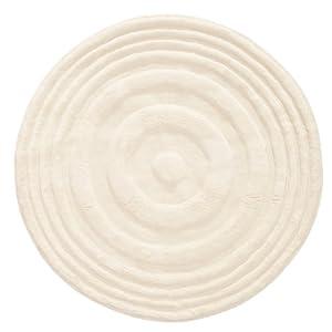 tapis rond blanc mellow mood 200x200 cuisine maison. Black Bedroom Furniture Sets. Home Design Ideas