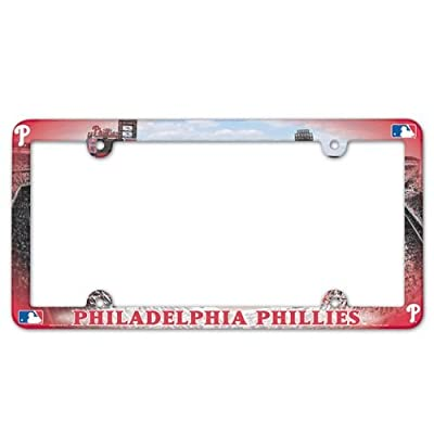MLB Full Color License Plate Frame