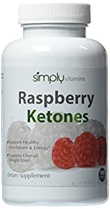 Simply Vitamins Raspberry Ketones 100mg 120 Capsules - 100 Pure Fat Burner Lose Fat With Zero Side Effects Supports Healthy Weight Loss And Weight Management All Natural Non-stimulant Fat Burner Supplement For Any Diet Or Weight Loss Plan by Simply Vitami