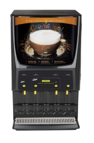 Wilbur Curtis G3 System 4 Station Cappuccino (Two 5 Lb And Two 10 Lb Hopper) - Commercial Cappuccino Machine - PCGT4 (Each)