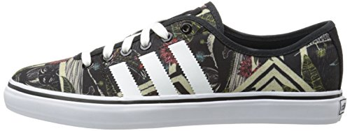 Black With White Stripes Canvas Old School Track Shoes