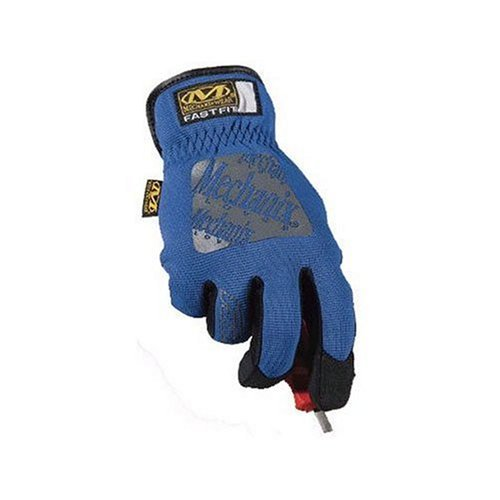 Guantes Mechanix Wear FastFit, Medium, color azul