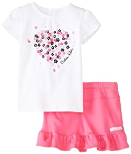 Calvin Klein Baby-Girls Infant Top with Skort from Calvin Klein
