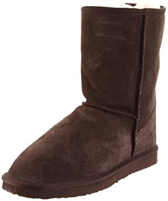Ukala Women's Sydney Low Boot,Chocolate,5 M US