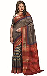 SUDARSHAN RAW SILK SAREE COLLECTIONS-Brown-SUT11917-VM-Art Silk Georgette Silk-Brown-SUT11917-VM-Art Silk Georgette Silk