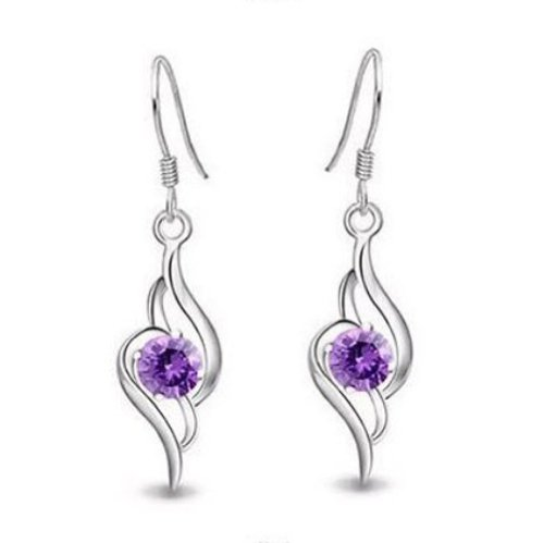 Rolicia Austrian Crystal Made with Swarovski Elements Earrings Angels Love For Women