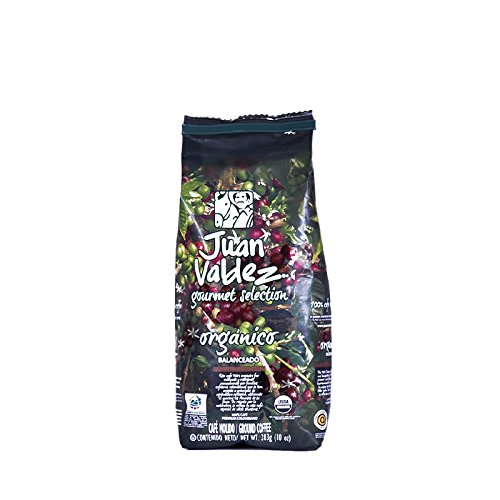 Juan Valdez Gourmet Organic Selection Ground Coffee | 10 Oz (Juan Valdez Coffee Beans compare prices)