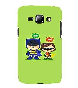EPICCASE Little Heros Mobile Back Case Cover For Samsung Galaxy J1 (Designer Case)