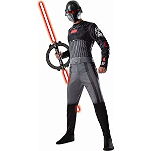Rubie's Costume Men's Star Wars Rebels Adult Inquuisitor, Multicolor, Standard