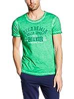 CMP Campagnolo Camiseta Manga Corta 3D74347 (Verde)