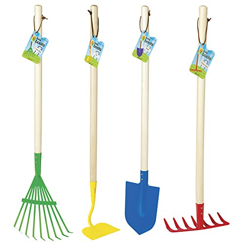 Toysmith big kids garden tool set for Childrens gardening tools