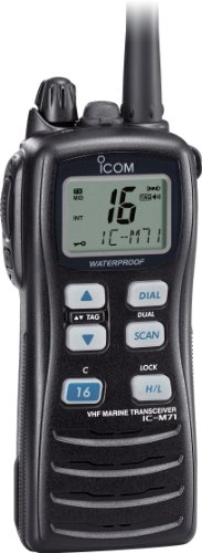 Icom M71 Waterproof Handheld VHF - Black