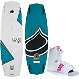 Liquid Force Melissa Hybrid Wakeboard 132 Ladies + Alpha Bindings Sz 6-10 by Liquid Force