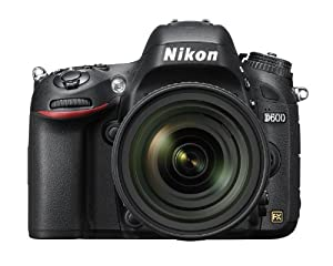 Nikon デジタル一眼レフカメラ D600 レンズキット AF-S NIKKOR 24-85mm f/3.5-4.5G ED VR付属  D600LK24-85