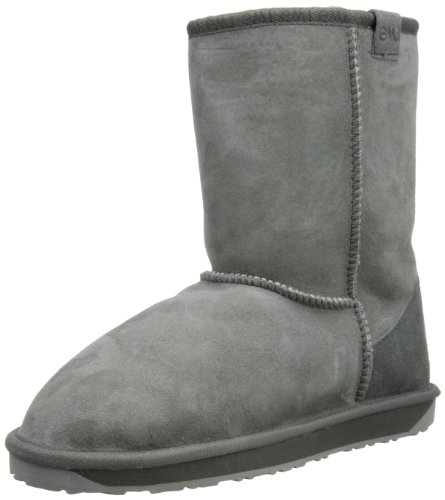 Emu Australia Women's Stinger Lo Charcoal Mid Calf Boots W10002 4 UK
