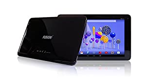 "10.1"" Fusion5 104 GPS Android Tablet PC - 32GB Storage - Android 5.1 Lollipop - Bluetooth 4.0 - FM - 1280*800 IPS Screen - 5000mAh battery - 2MP front and rear camera - Supports OTA Updates by Fusion5"