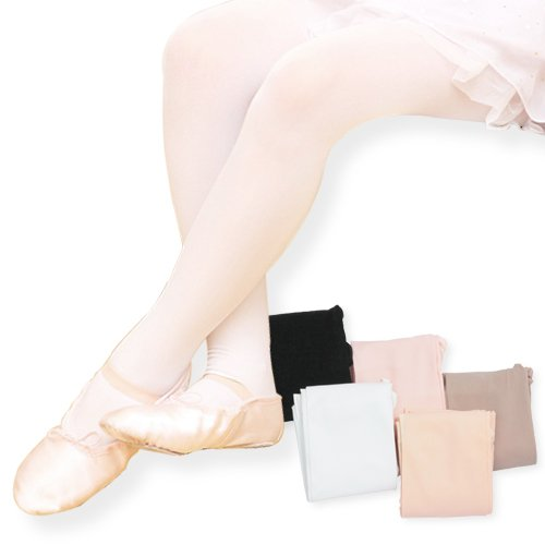 Smooth tights type (without hole gusset) pink M (125-145 cm)   Children's-0 - adult costume