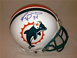 Ricky Williams Autographed Hand Signed Miami Dolphins Pro Line Helmet by Riddell by Hall of Fame Memorabilia