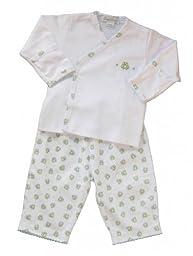 Kissy Kissy Unisex Baby 2-pc L/S Pant Set - Green - 6-9 Months