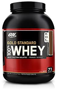 Optimum Nutrition 100% Whey Gold Standard, Extreme Milk Chocolate, 5 Pound