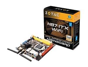 ZOTAC H87-ITX WiFi マザーボード MiniITX対応 第4世代Coreプロセッサ(Haswell)対応 日本正規代理店品 MB2014 H87ITX-A-E