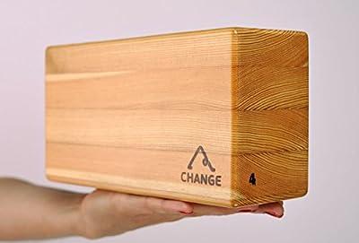 Yoga Block aus Holz