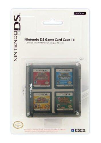 HORI-Nintendo DS Game Card Case 16 - Black