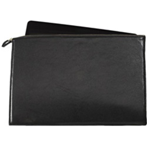 Graphic Image New Brights Leather Black Laptop Case