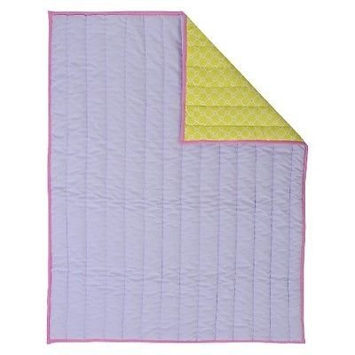 Sumersault Mix & Match Lavender Reversible Quilt - 1