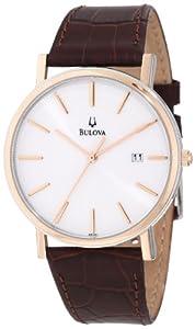 Bulova Men's 98H51 Calendar Strap Watch