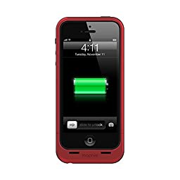 mophie juice pack Air for iPhone 5/5s/5se (1,700mAh) - Red