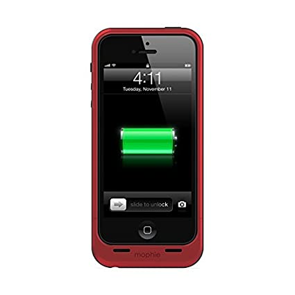Mophie-Juice-Pack-Air-External-Battery-Case-for-iPhone-5-/-5S-Red