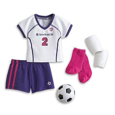 American Girl My AG Soccer Outfit + Charm by My American Girl online kaufen