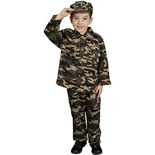 Deluxe Military Officer Kids Costume
