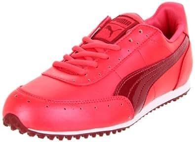 PUMA Women's Golf Cat 2 WNS Golf Shoe,Rouge Red/Rio Red,7 B US